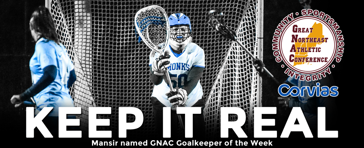 Mansir Tabbed as GNAC Goalkeeper of the Week