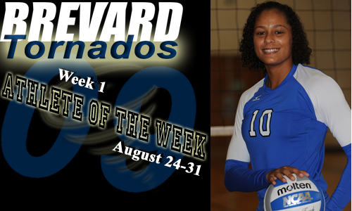 Brooke Seaman wins the first Tornado Athlete of the Week poll