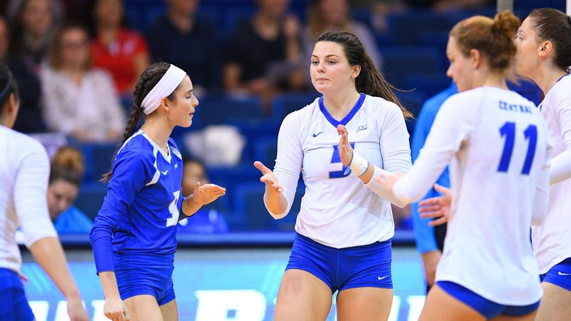 Balanced Attack Carries Volleyball by St. Francis Brooklyn, 3-0