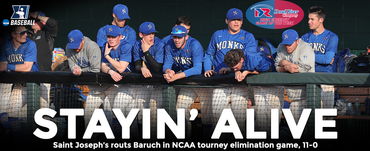 Saint Joseph's Routs Baruch in NCAA Tournament Elimination Game, 11-0