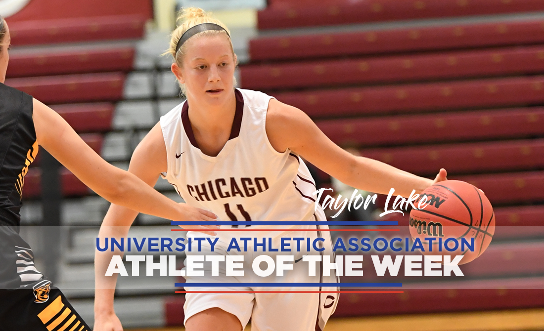 Taylor Lake Earns UAA Women's Basketball Athlete of the Week Status