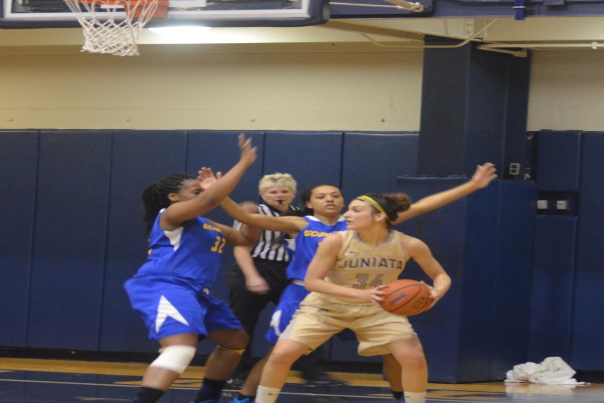 Women's Hoops Dominates Goucher in Landmark Conference Play