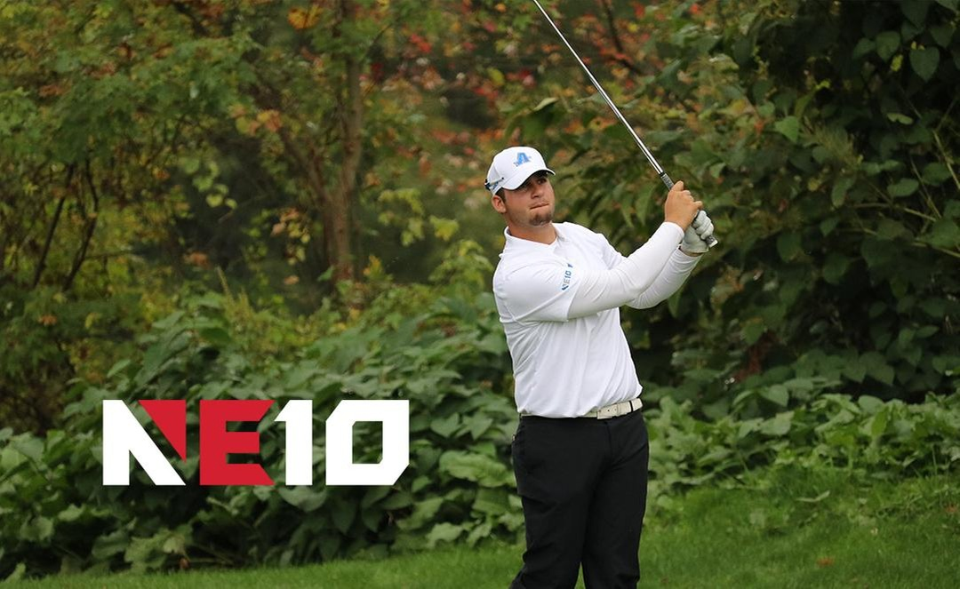 Sanzaro Named NE10 Men's Golfer of the Week