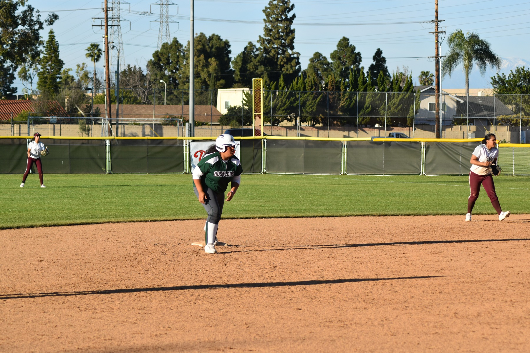 Softball: Terrones Tallies Four Hits as the Offense Comes out at Night