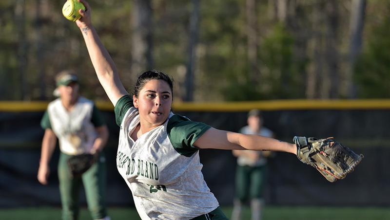 Richard Bland Splits At Patrick Henry 10-2 (5), 1-2