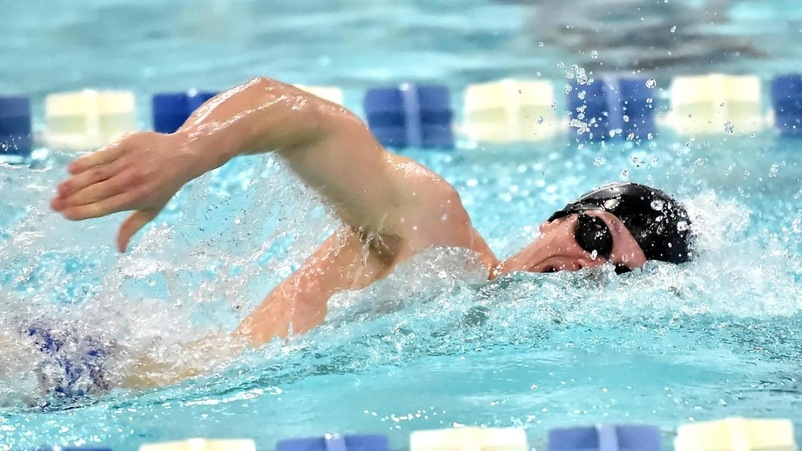 "Manchester Union Leader: ""Bentley swimmer Mark Zoda, of Nashua, racking up wins"""