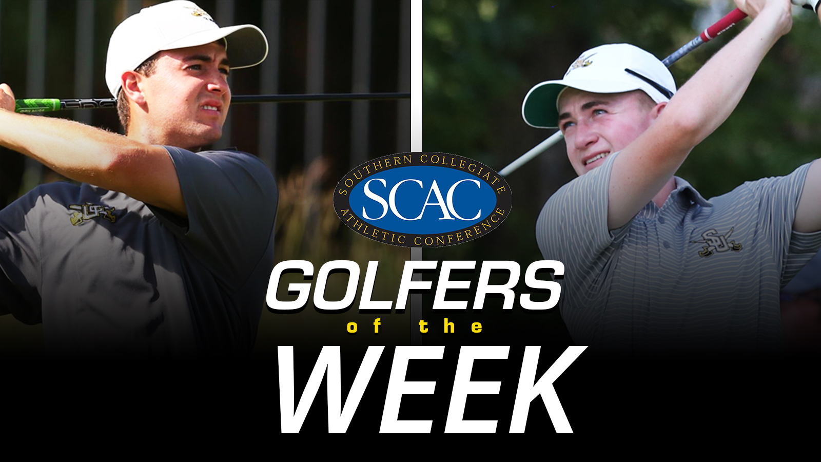 Osgood and Christil Named SCAC Co-Golfers of the Week