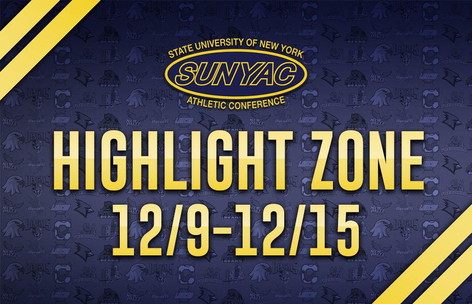 SUNYAC Highlight Zone - Dec. 9-15
