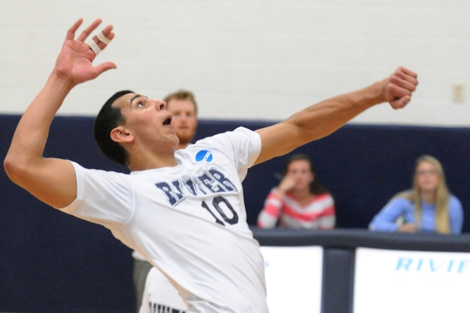 Men's Volleyball picks up two wins at March Mania Invitational