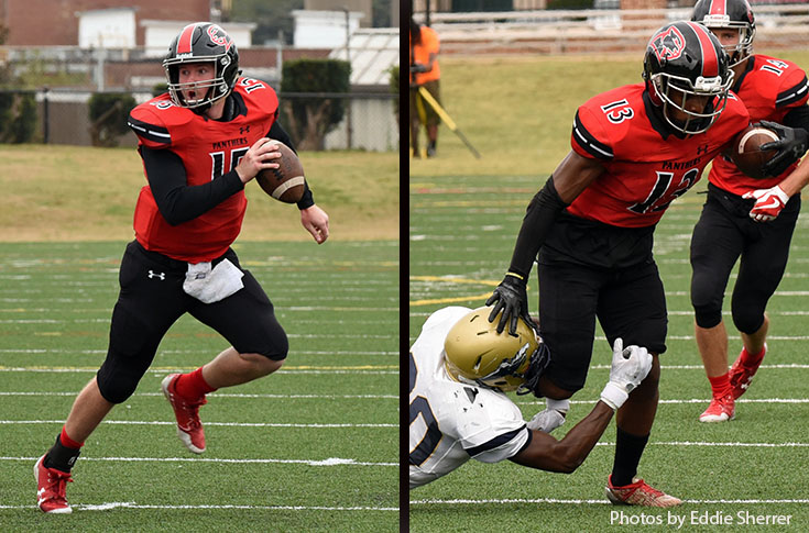 Football: Connor Blair, Marcus Campbell selected to USA South All-Conference first team