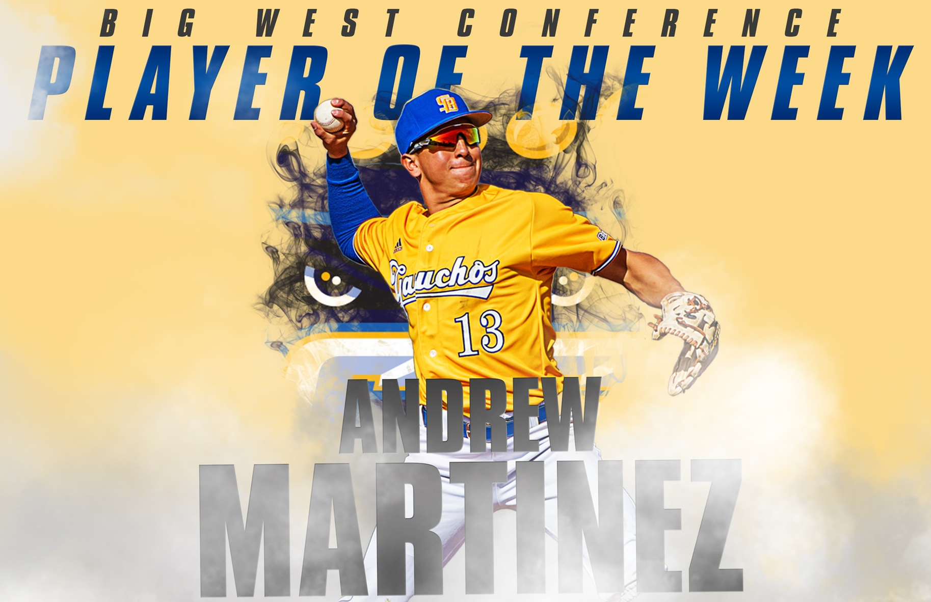 Martinez Named Big West Athlete of the Week