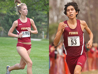Ferris Cross Country Teams Run At Penn State