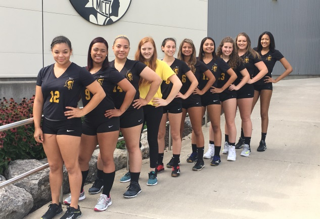 2018 MCC Volleyball Team