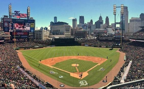 Baseball to Play at Comerica Park