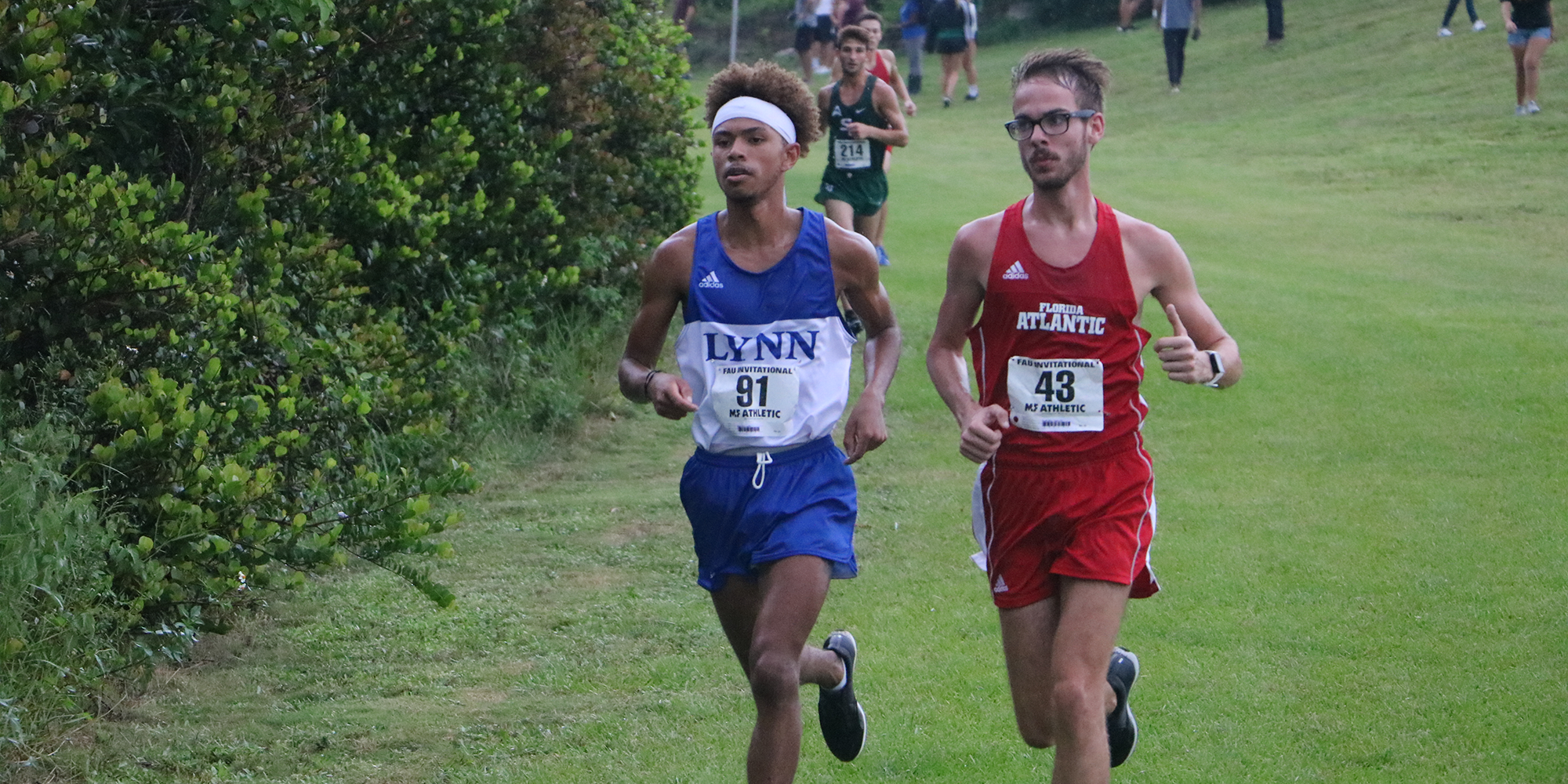 Men's Cross Country Notches Sixth-Place Finish at Falcon Classic