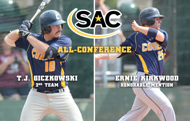 Cobra Duo Earns All-SAC Baseball Honors