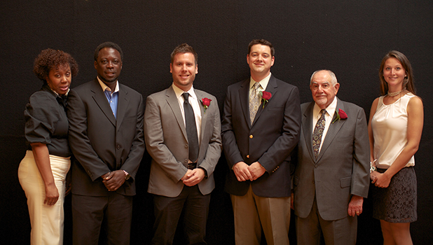 Five Inducted Into Athletic Hall of Fame