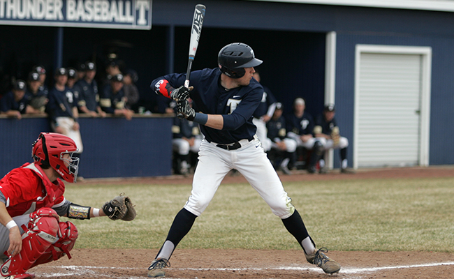 Calvin Takes Two From Trine in MIAA Opener