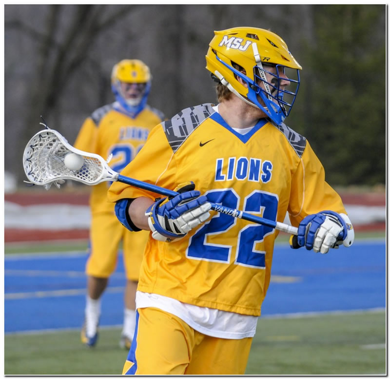 Lions' men's lacrosse squad drops home game to Wilmington College