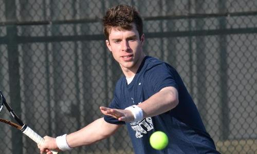 #16 Men's Tennis Defeats St. Mary's, 7-2, to Stay Unbeaten in CAC Play; Move to 18-4, 6-0 CAC on the Year