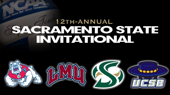 VOLLEYBALL HOSTS 12TH-ANNUAL SACRAMENTO STATE INVITATIONAL THIS WEEK