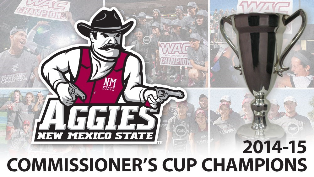 New Mexico State Wins WAC Commissioner's Cup