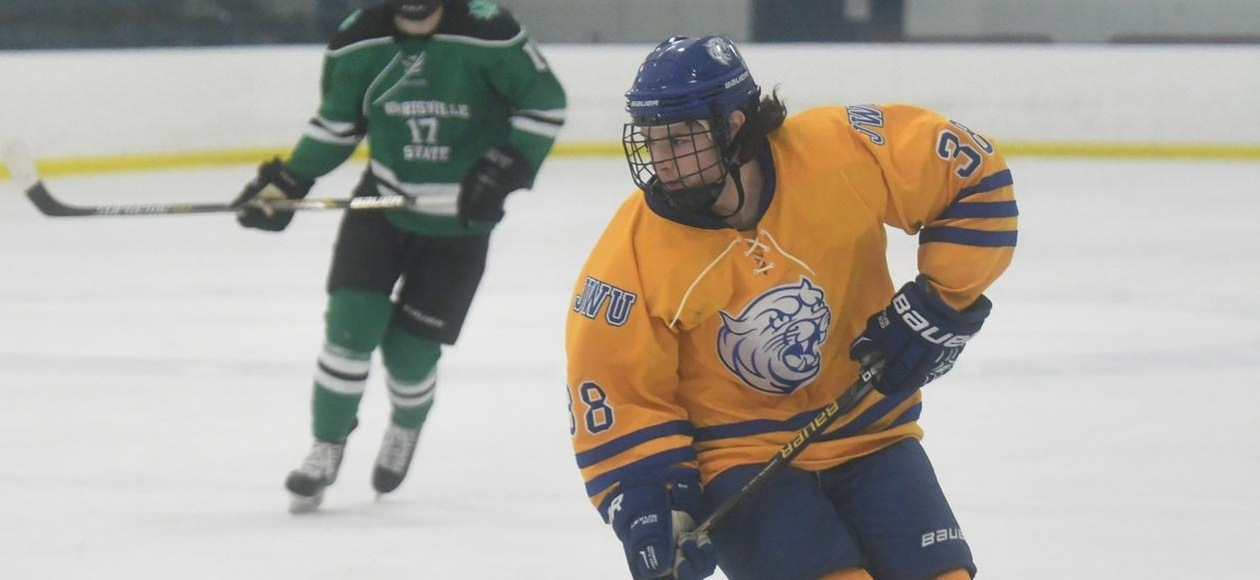Leopards Score Five Third-Period Goals to Defeat Men's Hockey 6-2