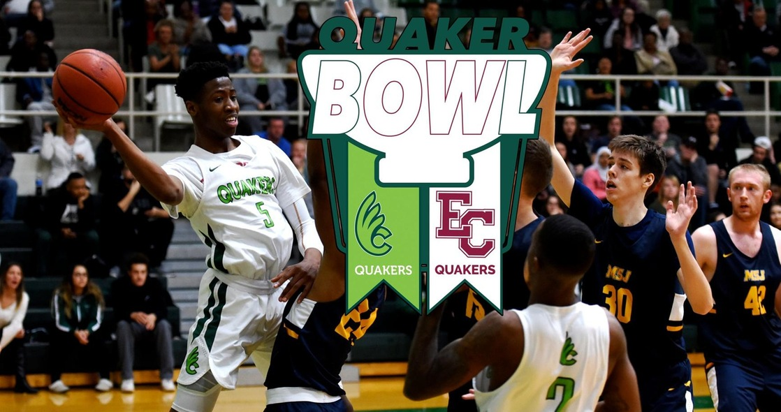 Men's Basketball Facing Earlham in Quaker Bowl Rivalry on the Road Wednesday
