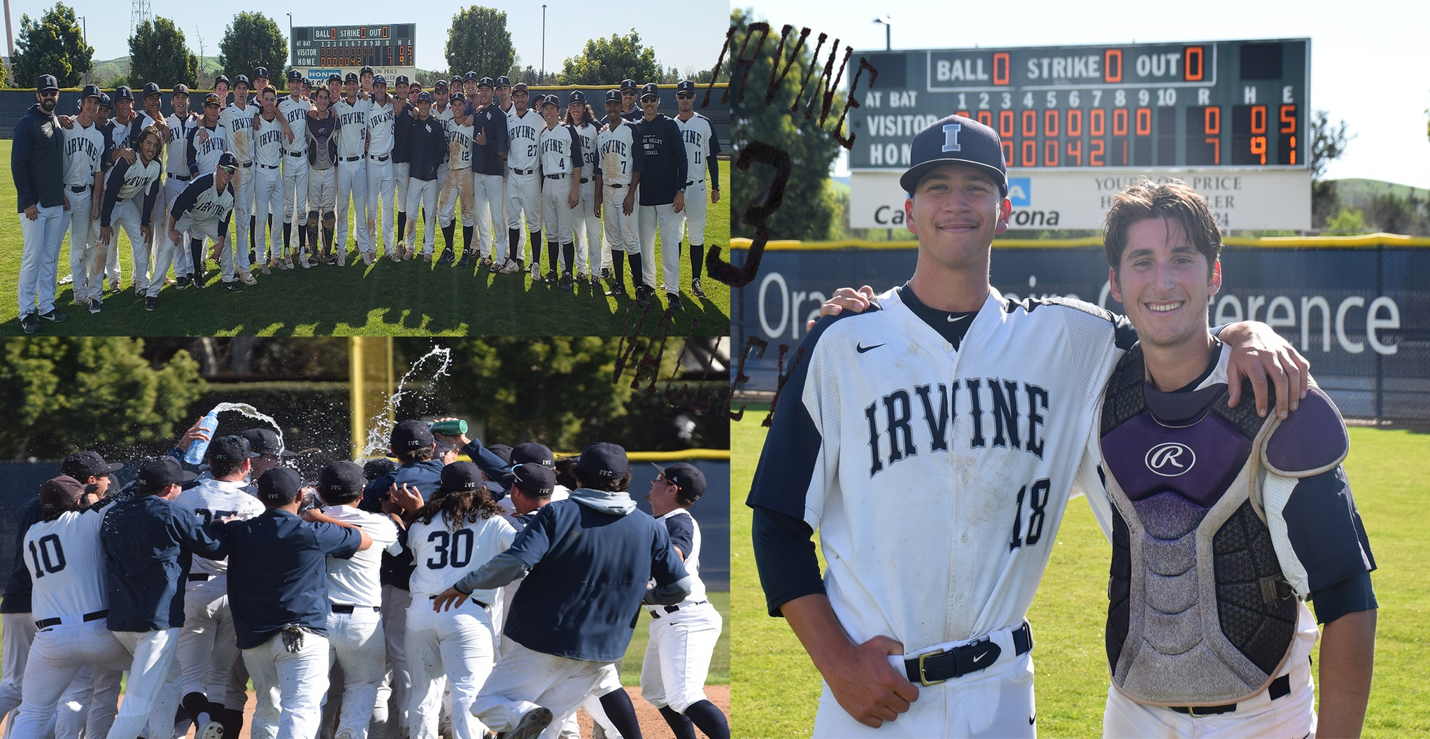 No. 3 Story of the Year - Dunham throws first-ever IVC no-hitter