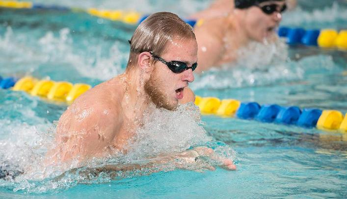 Men's Swimming & Diving Wins Eight Events against Whitewater