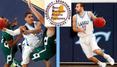 Men's Basketball Duo Earns GNAC 2nd Team Honors