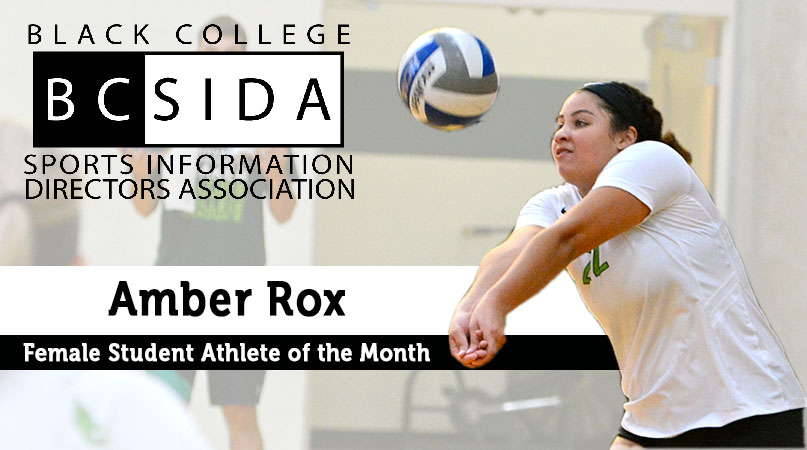 Rox named BCSIDA Female Student Athlete of the Month
