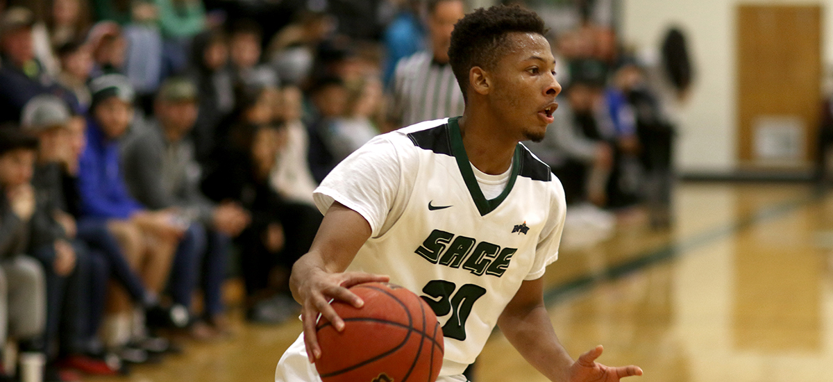 Sage drops Empire 8 opener to Stevens, 74-64
