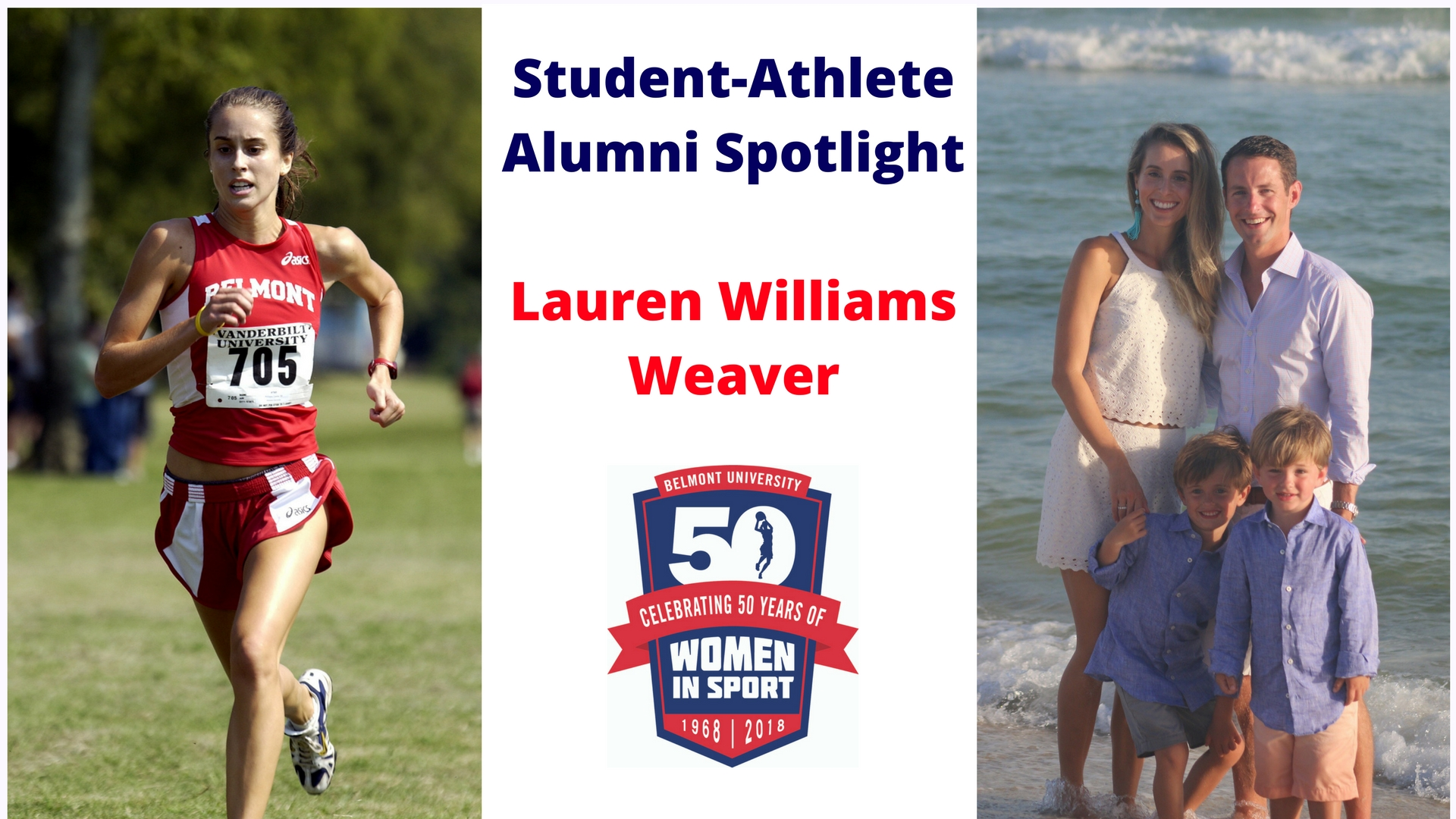 Student-Athlete Alumni Spotlight -- Lauren Williams Weaver