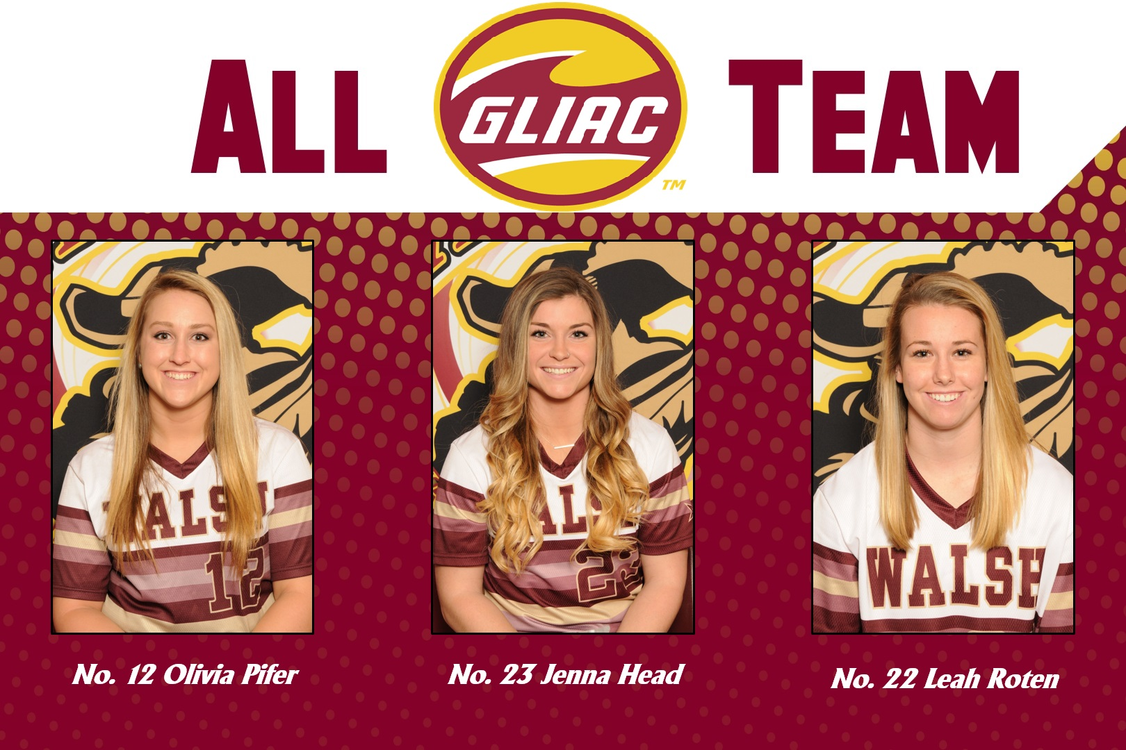 Softball Trio Named to All-GLIAC Team