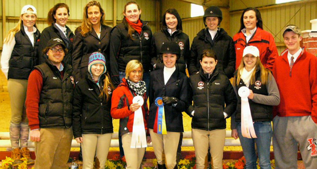 LC Equestrian Places First at UVA IHSA; Compete in Regionals