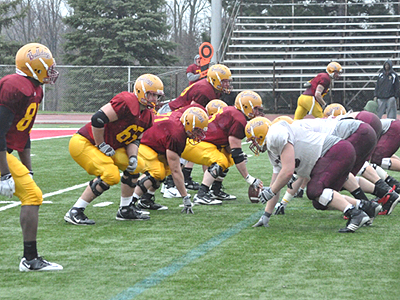 First Football Fall Scrimmage On Saturday