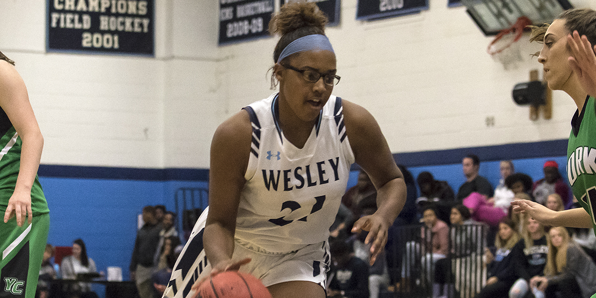Johnson paces women's basketball past Chargers