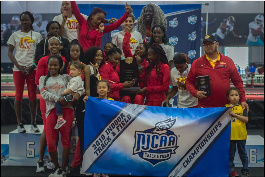 No. 2 NMJC Track and Field Repeat as National Champions