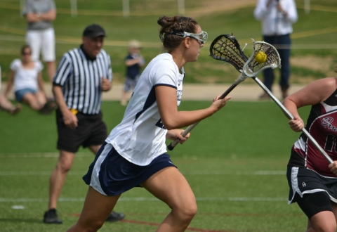 #13/#15 UMW Women's Lacrosse Opens With 15-13 Win at CNU as Hall Wins 250th