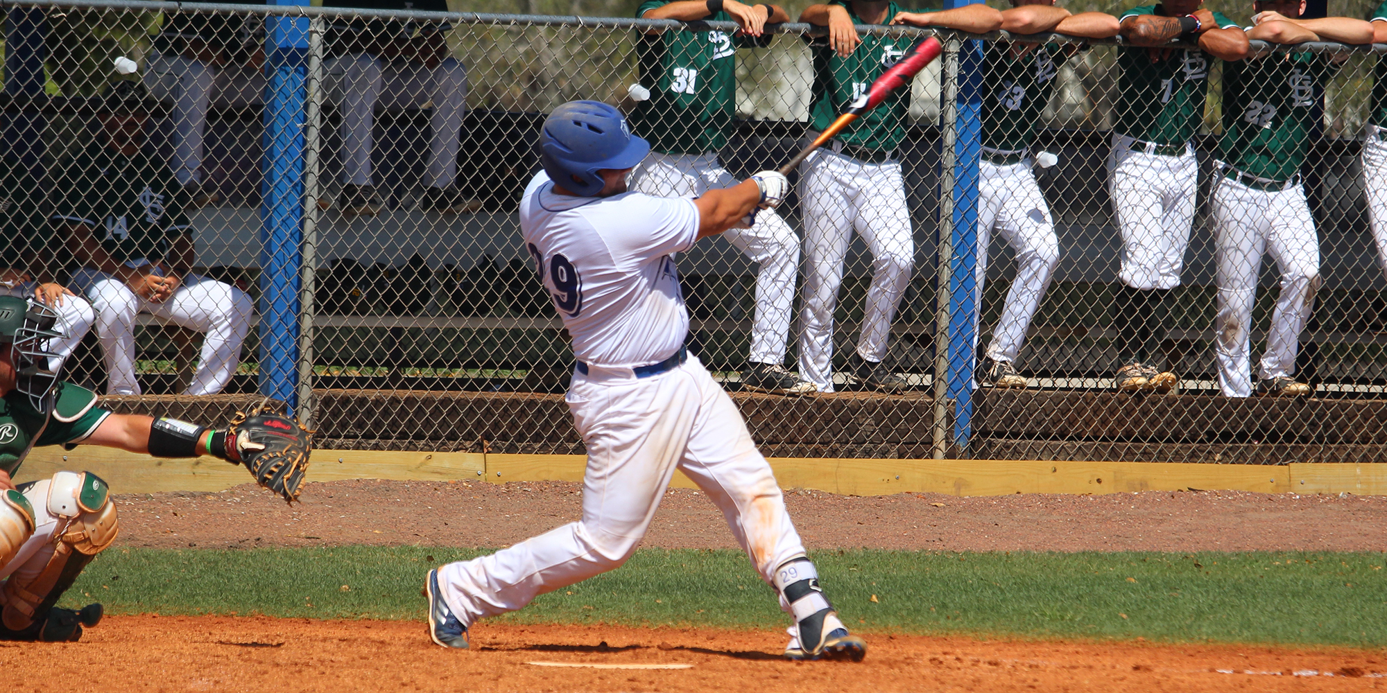 Baseball Falls in Second Game to Saint Leo