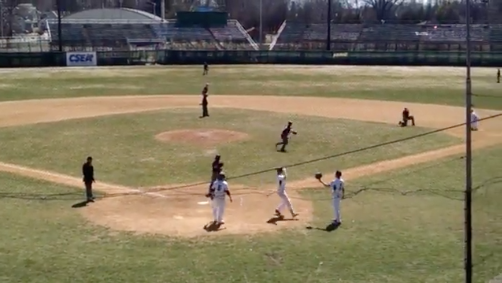 Baseball Rides Huge 1st Inning To Victory