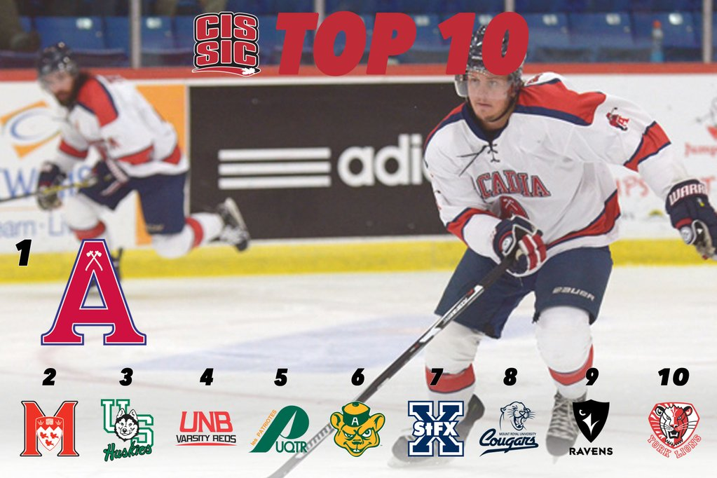 CIS Men's Hockey Top 10 (#10): Axemen hold on to No. 1 spot