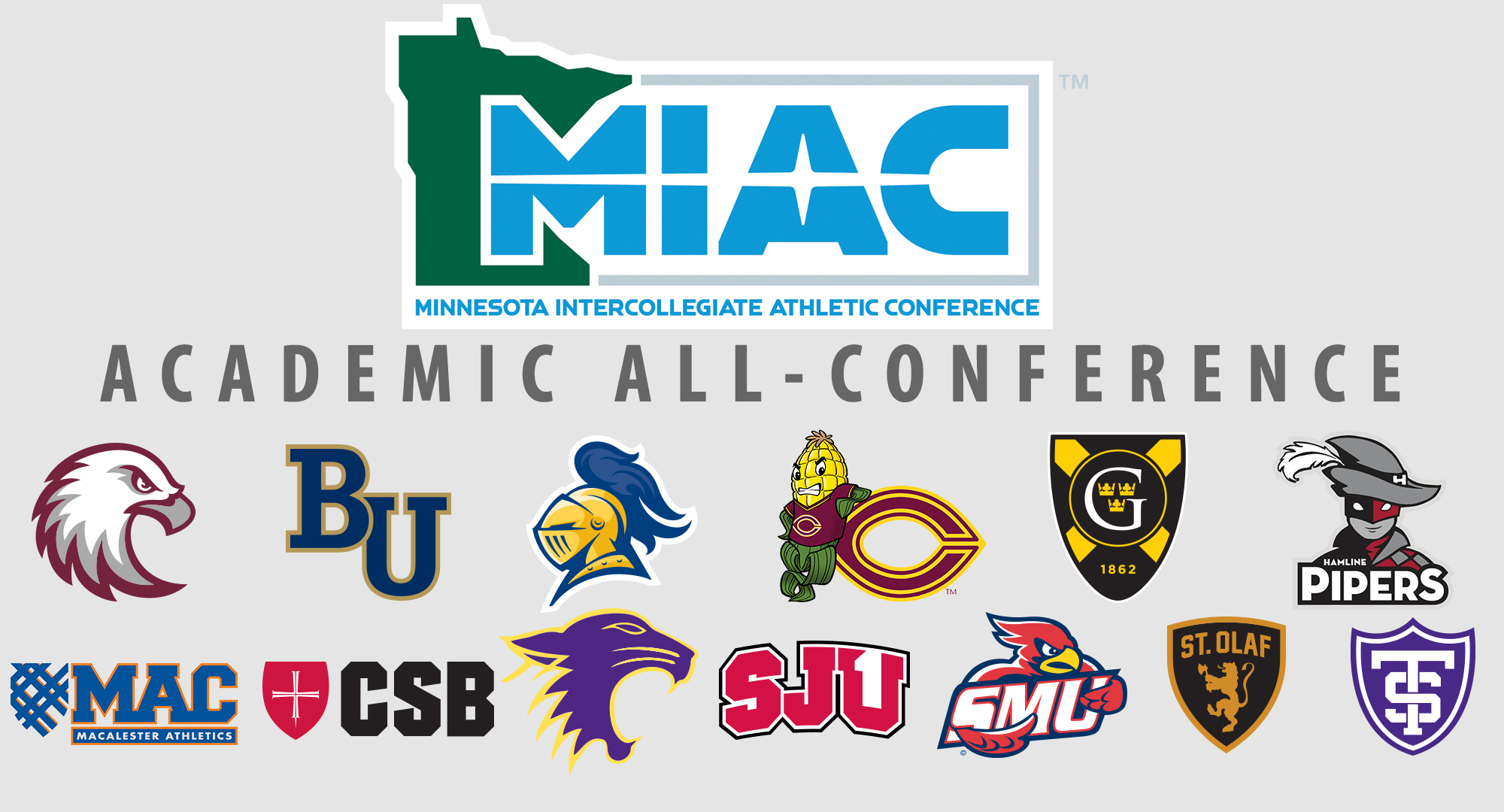 Concordia had 56 winter/sports student/athletes earn MIAC Academic All-Conference honors.