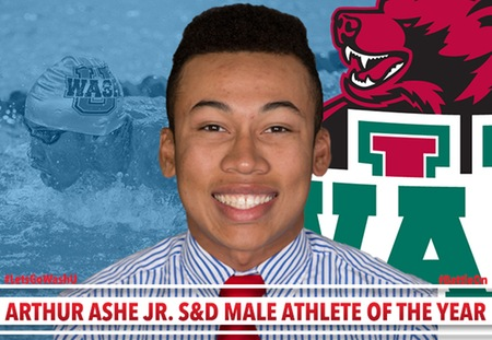 Ross Brown of Washington University Named the Arthur Ashe Jr. Swimming & Diving Male Athlete of the Year