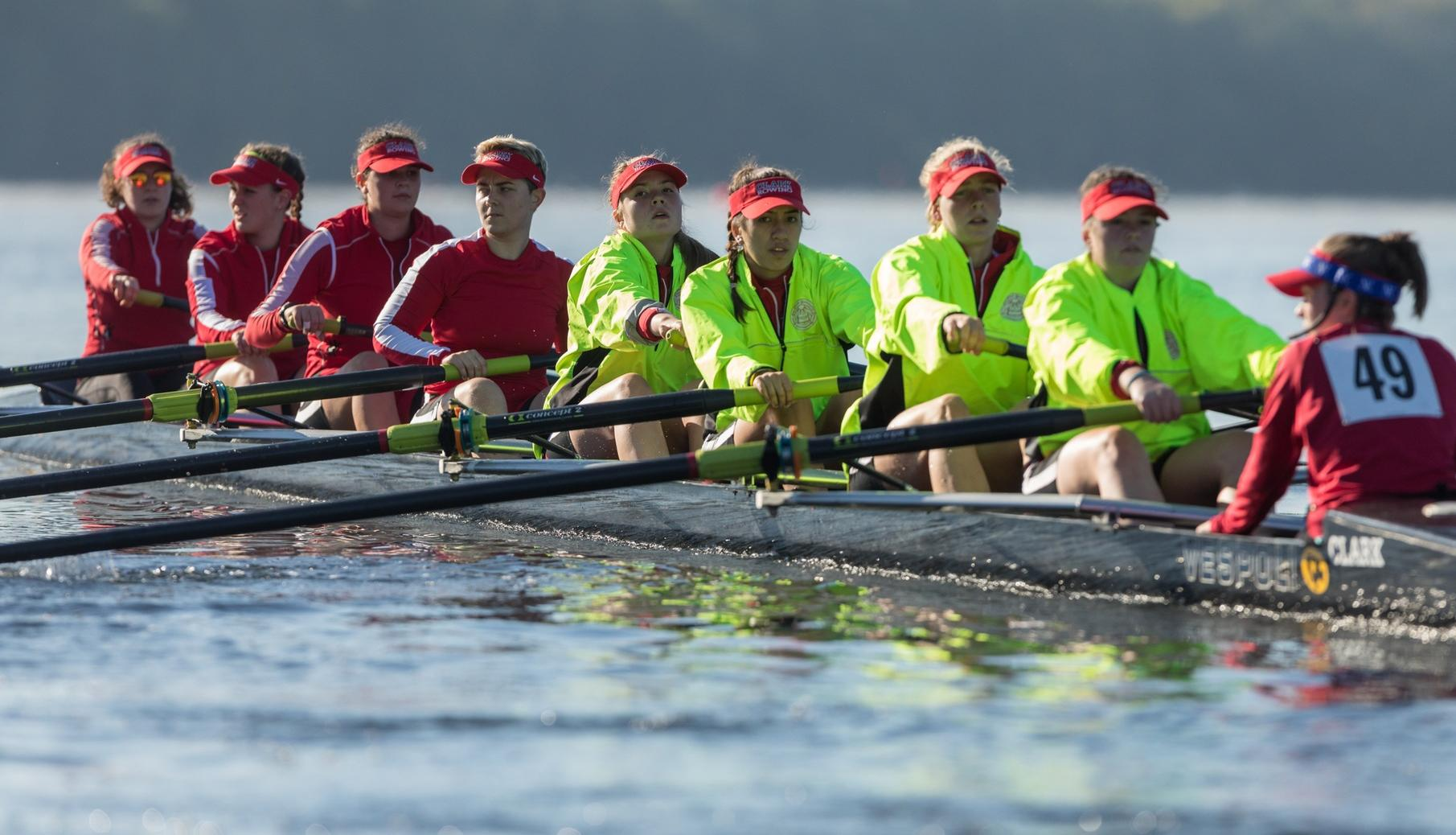 Rowing Races at New England Championship