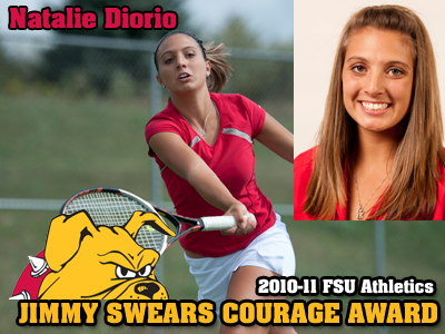 Natalie Diorio Earns Swears Courage Award