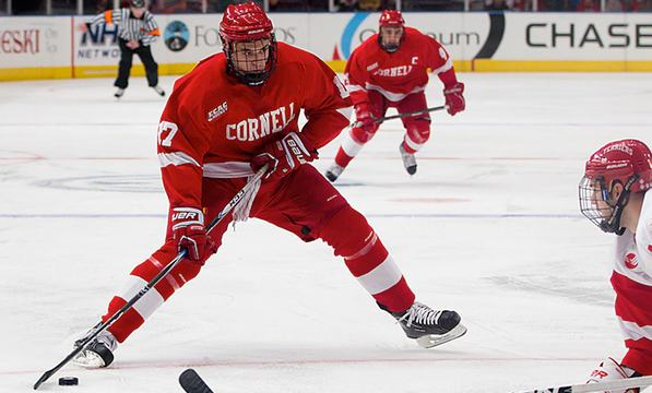 Cornell Storms by Union on Senior Night