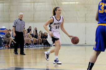Slow start dooms Brandeis women against No. 9 WashU