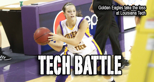 Lady Techsters top Golden Eagles in battle of legendary programs